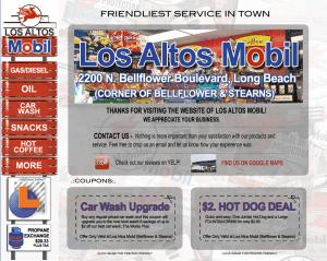 Gas station websites