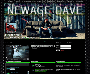 New Age Dave website