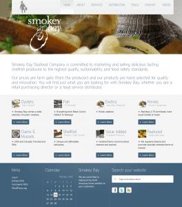 Smokey Bay website 2013