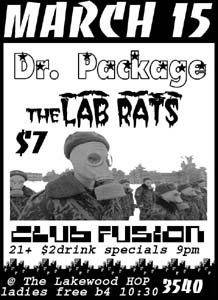 Dr Package, The Lab Rats