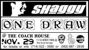 Shaggy, One Draw