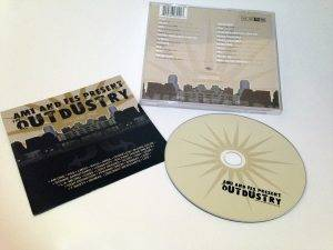 The Outdustry cd design
