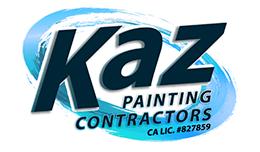 Kaz Paining Contractors logo designer for hire