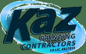 Kaz Painting Contractors logo transparent
