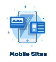 mobile website design icon