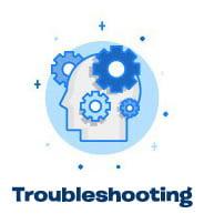 website troubleshooting icon