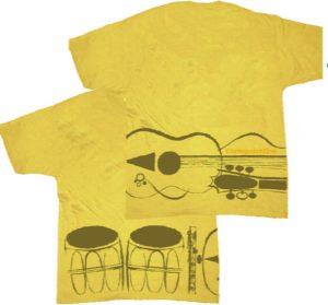 Bongos Guitars and Flutes streetwear shirt design