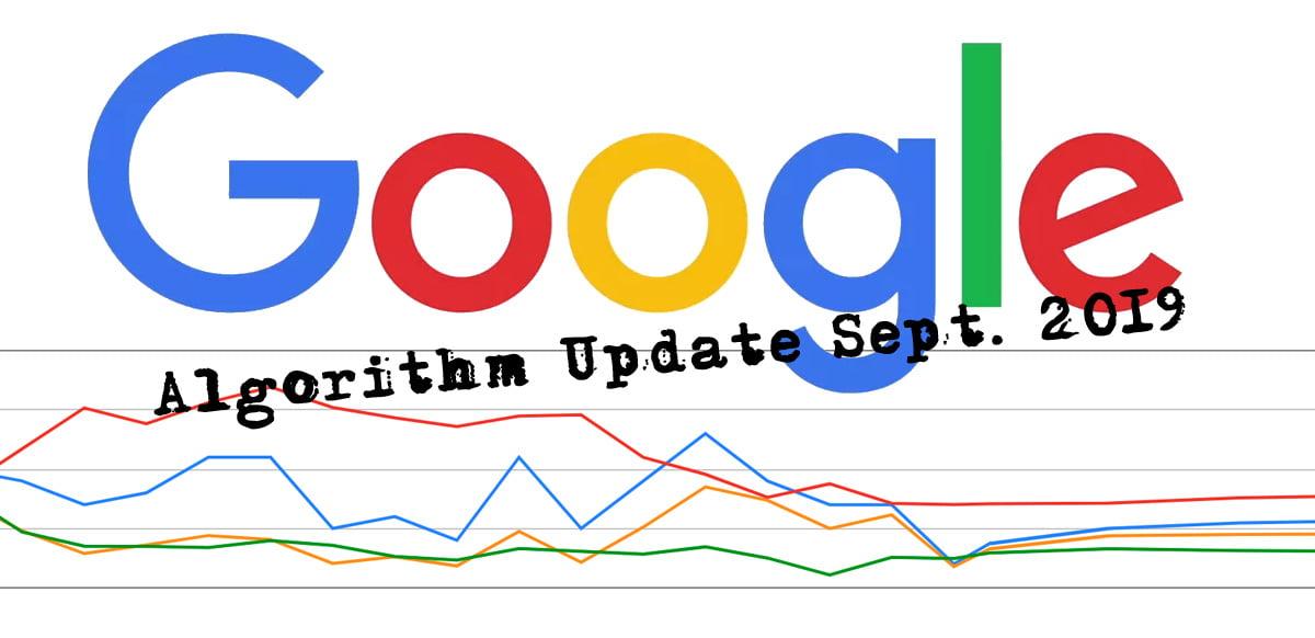 google update Sept 2019