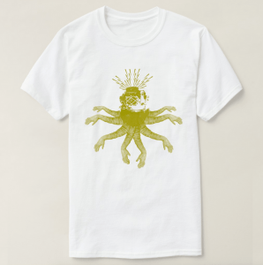 octodiver tshirt design