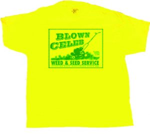 Blown Celeb weed and seed service streetwear design