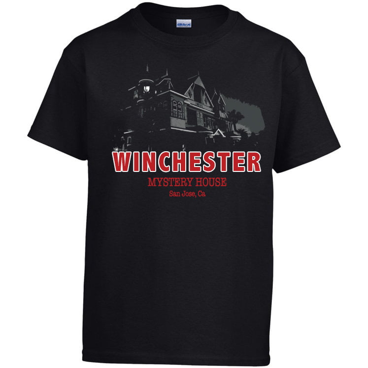 Winchester Mystery House t-shirt design