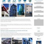 website design for Kaz Painting