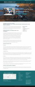 Dean Rosen website design