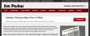 Jim Parker website before Michael Winchester